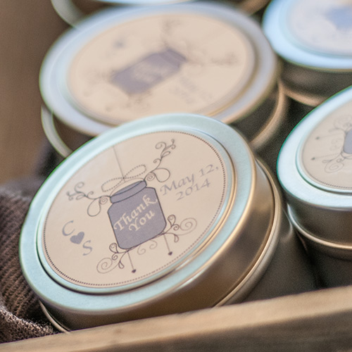 Diy Soy Candle Wedding Favors Candlescience