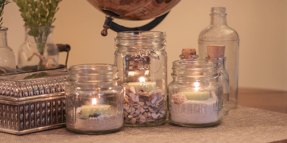 20 Creative Ways To Reuse Glass Jars Upcycle Decorate Glass Jars Ideas Earth Macros
