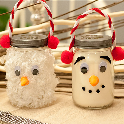 Snowman Luminaries & Room Fresheners