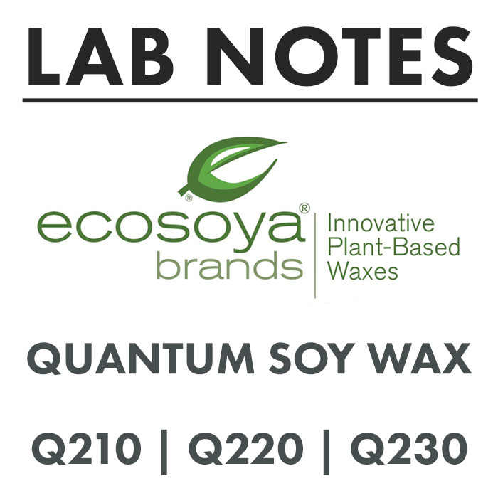 LAB NOTES: ECOSOYA QUANTUM SOY WAXES