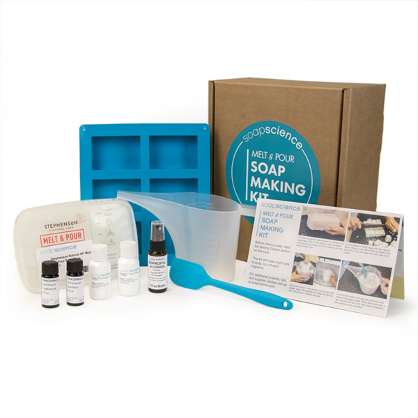 MELT AND POUR SOAP MAKING KIT