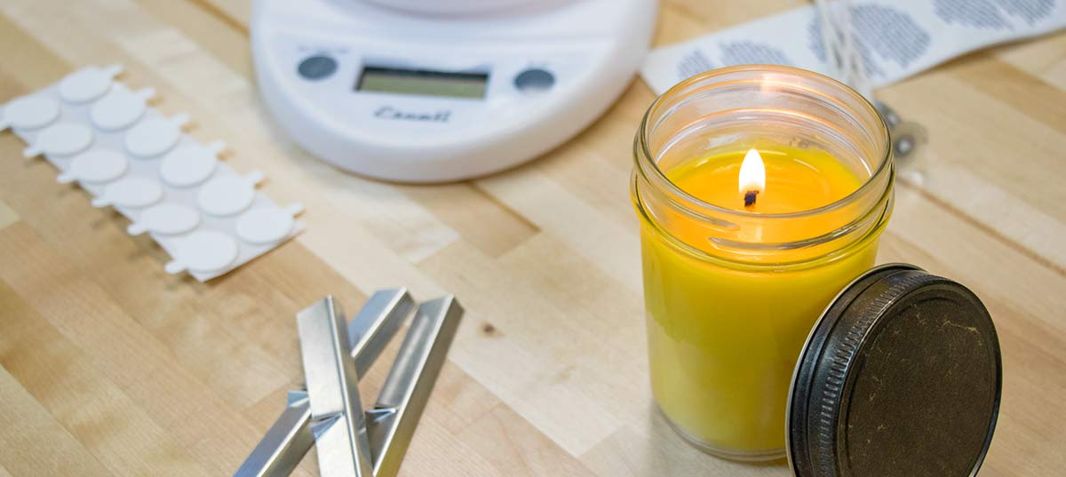 Elegant HOW TO MAKE A SOY CANDLE