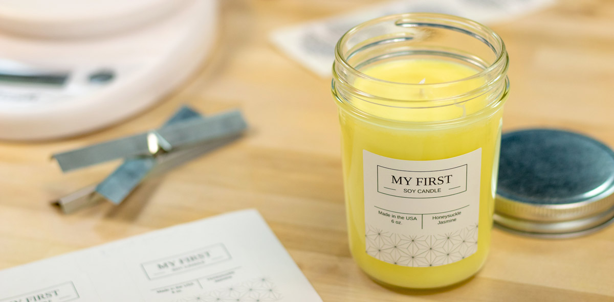 how to make a soy candle candlescience