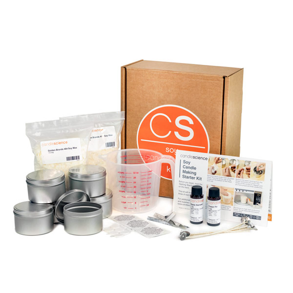 CANDLE MAKING STARTER KIT (FALL/HOLIDAY)