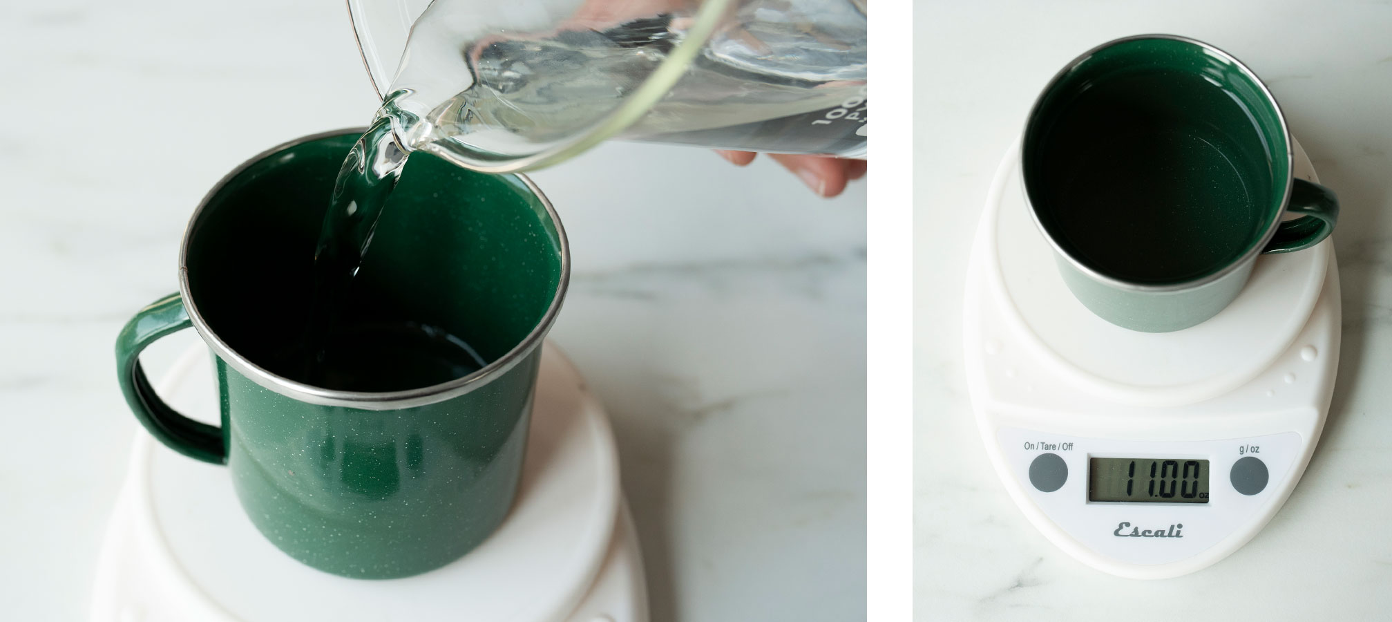 How to make a by the campfire enamel mug candle